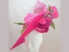 Suzie Mahony Designs Cerise Rose Bespoke Hat