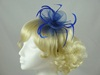 Swirl & Biots Fascinator on aliceband in Royal Blue