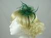 Swirl & Biots Fascinator on aliceband in Green