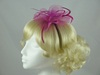 Swirl & Biots Fascinator on aliceband in Pink / Cerise