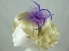 Swirl & Biots Fascinator on aliceband in Purple