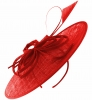 Failsworth Millinery Butterfly Events Disc in Tabasco