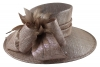 Hawkins Collection Ascot Hat in Taupe