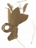 Max and Ellie Lily Felt Fascinator in Taupe