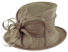 Max and Ellie Occasion Hat in Taupe