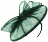 Failsworth Millinery Sinamay Disc in Teal