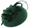Failsworth Millinery Wool Felt Pillbox in Teal