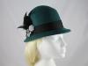 Victoria Ann Wool Hat in Teal