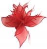 Failsworth Millinery Organza Petals Fascinator in Tulip