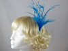 Emma Fascinator in Turquoise