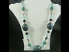Large Bead Necklace in Turquoise