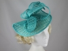 Elegance Collection Folded Events Disc in Turquoise