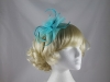Swirl & Biots Fascinator on aliceband in Turquoise