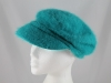 Whiteley Angora Cap in Turquoise