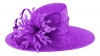 Failsworth Millinery Ascot Hat in Violet