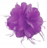 Failsworth Millinery Feather Fascinator in Violet