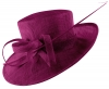 Hawkins Collection Occasion Hat in Violet