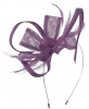 Max and Ellie Flower Fascinator in Violet