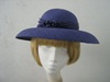 Wedding hat Violet
