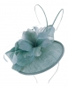 Failsworth Millinery Quills Disc Headpiece in Wedgewood