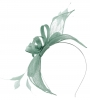 Failsworth Millinery Sinamay Fascinator in Wedgewood