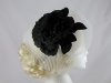 J Bees Millinery Flower and Veil Headpiece