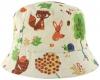 SSP Hats Woodland Linen Sun Hat in White/Squirrel