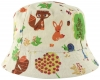 SSP Hats Woodland Linen Sun Hat in White/Squirrel