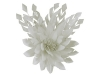 Failsworth Millinery Feather Flower Fascinator in White