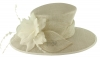 Failsworth Millinery Occasion Hat in White