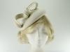 Failsworth Millinery Wool Felt Pillbox Headpiece in White