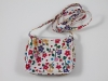 Girls Flower Bag in White