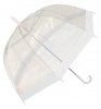 Hawkins Clear Umbrellla in White