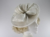 Hawkins Collection Bow Disc Headpiece in White