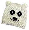 Hawkins Panda Beanie Ski Hat in White