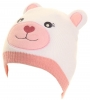 Jiglz Bear Beanie in White