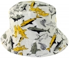 Jiglz Shark Cotton Sun Hat in White