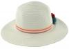 SSP Hats Girls PomPom Straw Hat