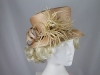 Whiteley Butterscotch Wedding Hat