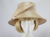 Whiteley Palest Peach Wedding Hat