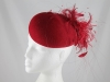 Whiteley Red Events Button Headpiece