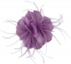 Failsworth Millinery Feather Fascinator in Wisteria