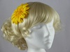 Daisy Fascinator in Yellow