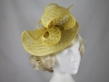 Elegance Collection Folded Events Disc in Yellow