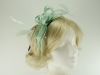 Failsworth Millinery Sinamay Fascinator in Yucca