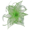 Failsworth Millinery Diamante Organza Fascinator in Zest