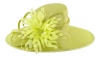 Failsworth Millinery Ascot Hat in Zest