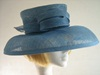 Jacques Vert Wedding hat Ascot hat Two Tone blue