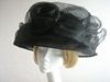 Madhatter Wedding hat Black