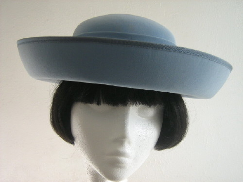 Headways (by Albert) Wedding hat / Formal hat Pale Blue